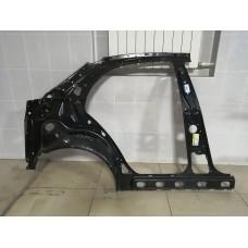 Панель крыла заднего правая Chevrolet Lanos