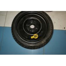 Диск колеса докатка 4Tx16 ET44 с резиной Kumho T125/700/R16 96M